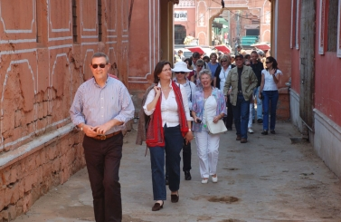 Heritage Walk in Pink City